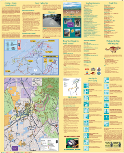 PDF File - 6.5Mb in Size (Regional Map, Transit Info, Cycling Tips, etc. contained on back side of map)