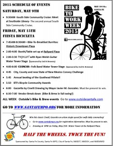 2015 Bike to Work Schedule Updated 05_07_15