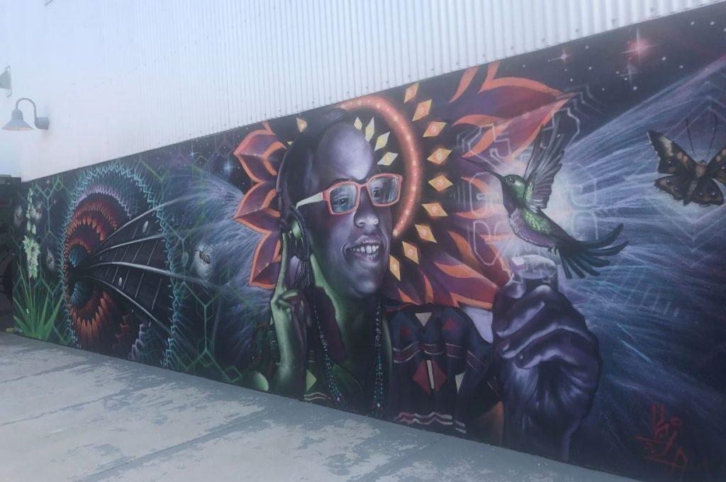 Mural at Warehouse 21 in Santa Fe 2021